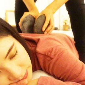 温石整体(腰痛への施術例)