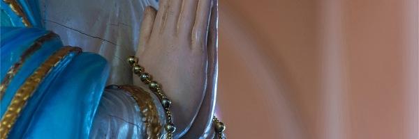 聖母マリアのローブの色