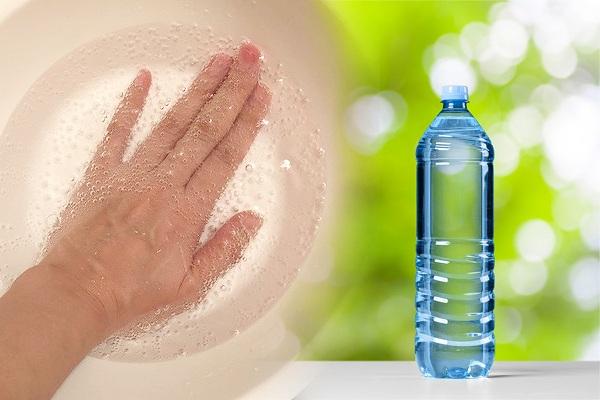 炭酸水で日焼け解消